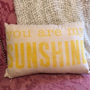 Other - you are my sunshine pillow